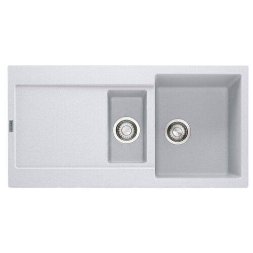 Врезная кухонная мойка 97 см FRANKE MRG 651 белый franke mrg 651 78 114 0198 351