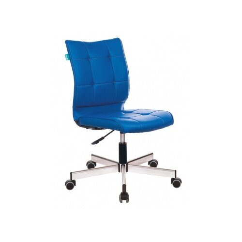 Компьютерное кресло Бюрократ CH-330M офисное, обивка: искусственная кожа, цвет: синий цена 2017