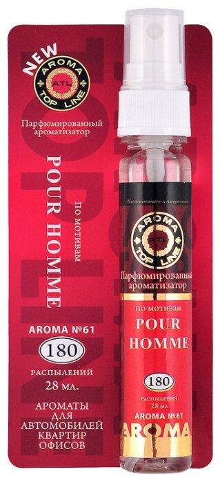 AROMA TOP LINE Ароматизатор для автомобиля Aroma №61 Givenchy Pour Homme 28 мл — купить по выгодной цене на Яндекс.Маркете