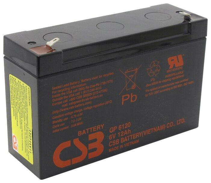 Батарея CSB GP6120 6V/12AH
