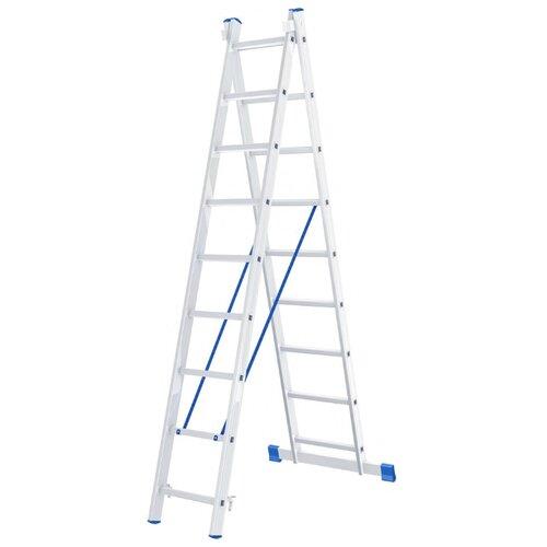 Лестница трансформер 2-секционная Сибртех 97909