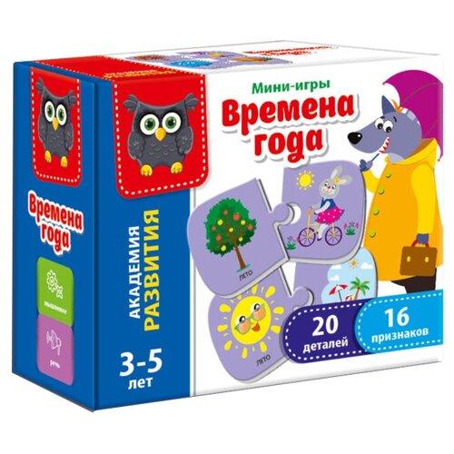 Купить Настольная игра Vladi Toys Времена года VT5111-01, Настольные игры