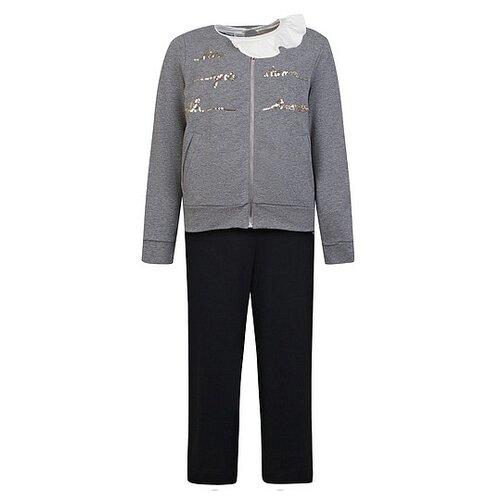 Купить Комплект одежды Simonetta размер 152, черный/серый/кремовый, Комплекты и форма