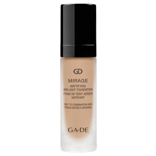 Купить Ga-De Тональный крем Mirage Air-Light Foundation Mattifying, 20 мл, оттенок: 127 Bare Cream