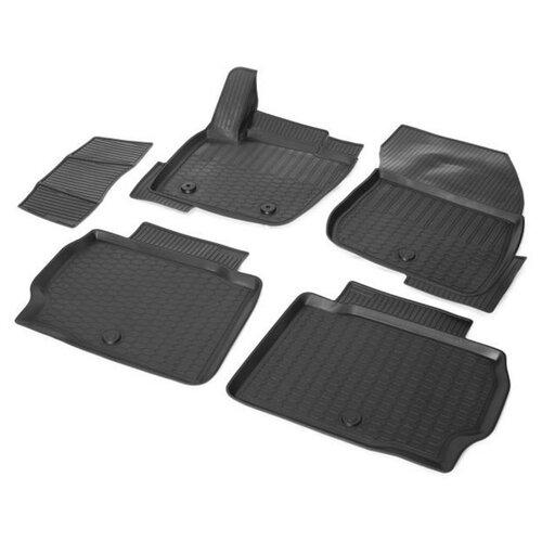 Комплект ковриков RIVAL 11802001 Ford Mondeo 5 шт. черный