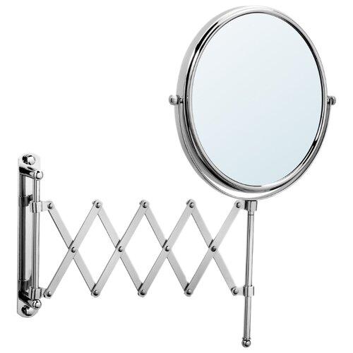 Зеркало косметическое настенное Raiber RMM-1120 серебристый косметическое зеркало raiber rmm 1114 с увеличением и подсветкой хром