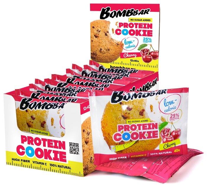 BombBar печенье низкокалорийное 25% (40 г.)(12 шт.)