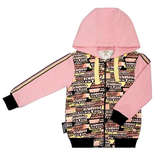 Толстовка lucky child размер 28 (92-98), розовый худи lucky child размер 28 92 98 фиолетовый