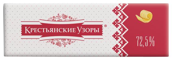 Крестьянские узоры Спред сладко-сливочный с маслом 72.5%, 450 г