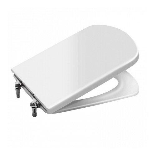 Фото - Крышка-сиденье для унитаза Roca Dama Senso ZRU9000040 дюропласт белый крышка сиденье для унитаза roca dama senso zru9302820 дюропласт с микролифтом белый