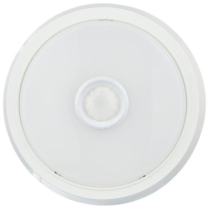 СПБ-2Д-КРУГ светильник светодиодный с датчиком движения белый 14Вт 230В 4000К 1100лм 210мм IN HOME