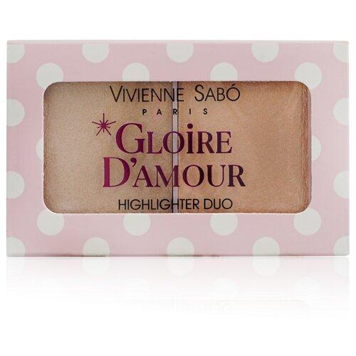 Купить Vivienne Sabo Палетка хайлайтеров Gloire d'amour 02, персиковый