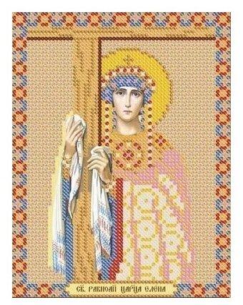 Канва для вышивания с рисунком NOVA SLOBODA Св. Равноапостольная Елена БИС-5119 13 х 17 см