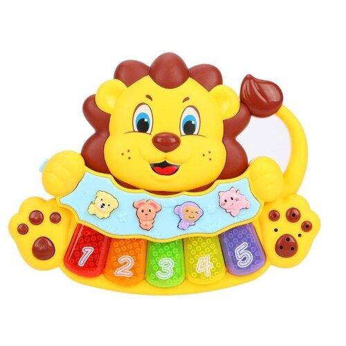 Купить Развивающая игрушка Жирафики Львенок желтый, Развивающие игрушки