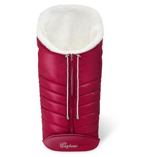 Купить Конверт-мешок Esspero Cosy White 90 см ruby, Конверты и спальные мешки