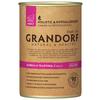 Корм для собак Grandorf буйвол, телятина 400г