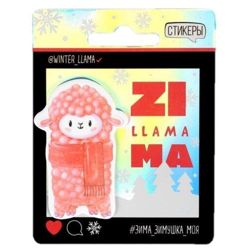 Купить ArtFox Стикеры ZillamaMA (4864080) розовый/черный, Бумага для заметок