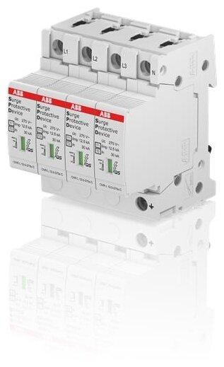 Комбинированный разрядник для систем энергоснабжения ABB 2CTB815710R2300 4П