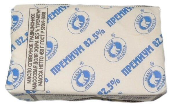 Белый Медведь Сливочное масло Евро-премиум 82.5%, 420 г