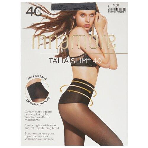 цена Колготки Innamore Talia Slim 40 den, размер 4-L, nero (черный) онлайн в 2017 году