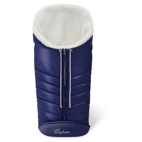 Купить Конверт-мешок Esspero Cosy White 90 см navy, Конверты и спальные мешки