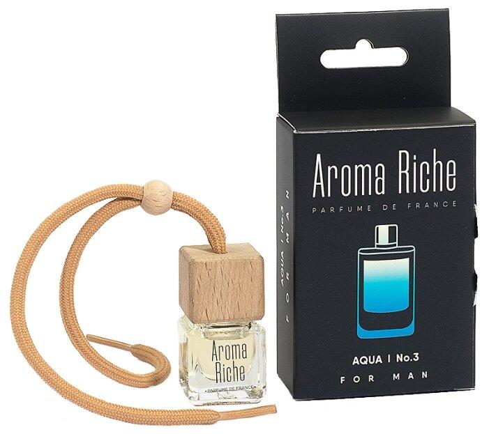 Автолидер Ароматизатор для автомобиля, Aroma Riche мужской, Aqua №3 5 мл