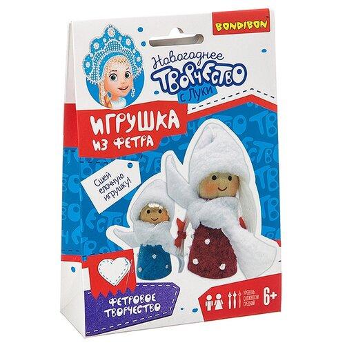 Купить Набор для творчества Bondibon Ёлочные игрушки своими руками. Куколки , Изготовление кукол и игрушек