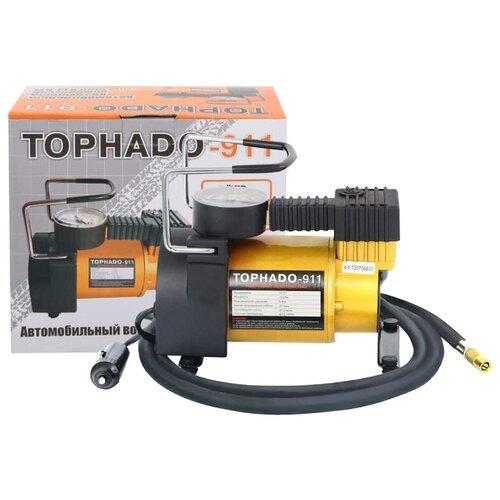 Автомобильный компрессор Tornado 911 черный/желтый