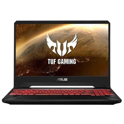 Купить Ноутбук ASUS TUF Gaming FX505DT-AL218T (AMD Ryzen 5 3550H 2100 MHz/15.6 /1920x1080/16GB/512GB SSD/DVD нет/NVIDIA GeForce GTX 1650/Wi-Fi/Bluetooth/Windows 10 Home) 90NR02D2-M04280 черный