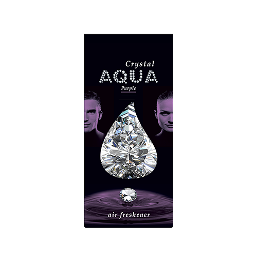 цена на Aqua Ароматизатор для автомобилей Crystal Drop Purple 12 г