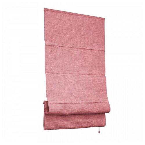 Фото - Римская штора Эскар Натур (розовый), 140х175 см римская штора эскар линза синий 160х160 см