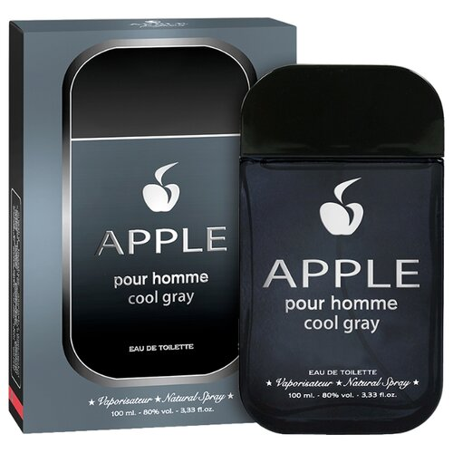 Купить Туалетная вода Apple Parfums Apple pour Homme Cool Gray, 100 мл