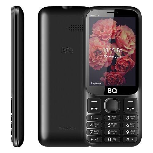 Телефон BQ 3590 Step XXL+, черный мобильный телефон bq step xxl 3590 64mb черный синий 2sim 3 5 tft 320x480