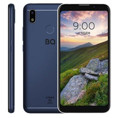Смартфон BQ 5535L Strike Power Plus синий смартфон bq bq 4072 strike mini blue