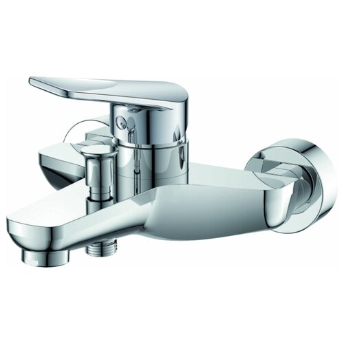 Фото - Смеситель для ванны с подключением душа Orange Flipo M23-100Cr однорычажный смеситель для душа orange flipo m23 200cr однорычажный