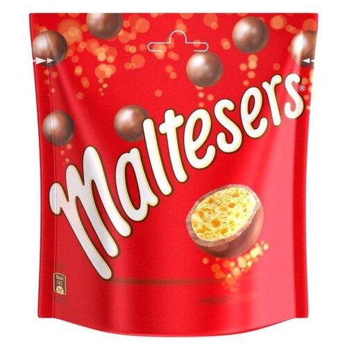 Драже Maltesers хрустящие шарики в молочном шоколаде, 175 г