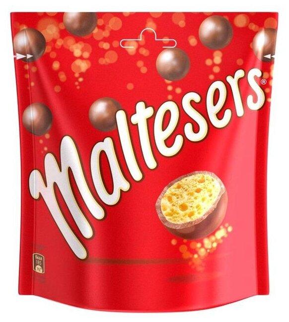 Драже Maltesers хрустящие шарики в молочном шоколаде