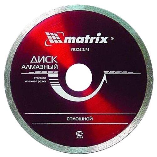 Диск алмазный отрезной 230x1.4x22.2 matrix Professional 73191 1 шт. matrix professional 135559