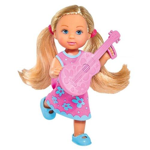 Купить Кукла Simba Еви с гитарой, 12 см, 5733209-2, Куклы и пупсы