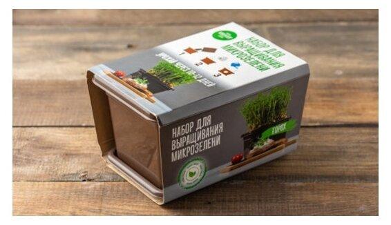 ВкусВилл Горох набор для выращивания микрозелени, 800 г