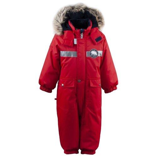 Купить Комбинезон KERRY RED K19408A размер 74, 622 красный, Теплые комбинезоны