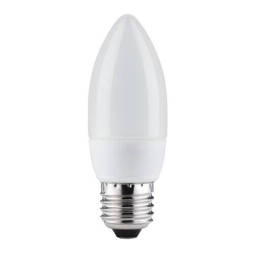 Экономная лампа свеча электроник, опал, E27, 132мм 7W 89117
