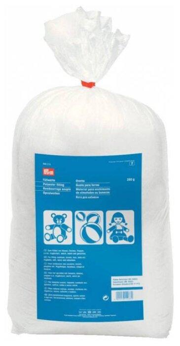 Наполнитель для подушек, игрушек, белый, 250 грамм в упаковке, 100% полиэстер