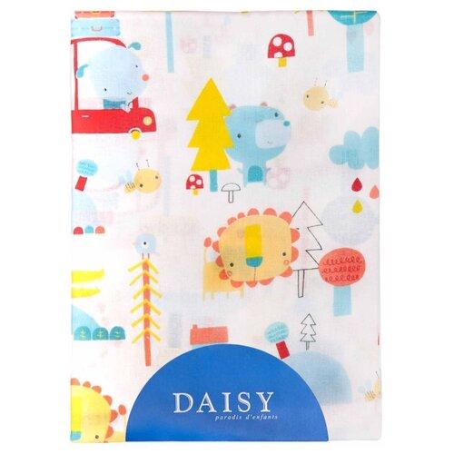 Купить Многоразовые пеленки Daisy хлопок 75x120 машинки, Пеленки, клеенки