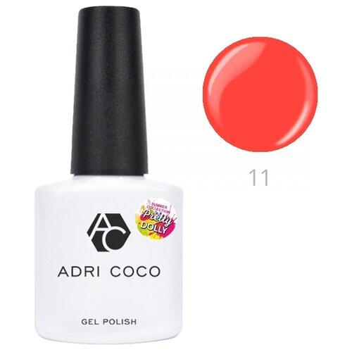 Гель-лак для ногтей ADRICOCO Pretty dolly, 8 мл, 11 неоновый коралловый