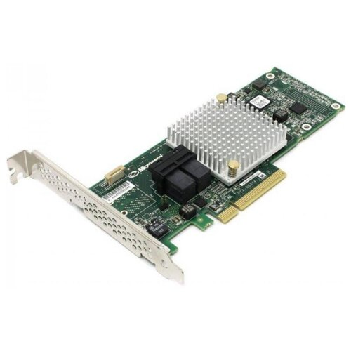 SAS/SATA RAID контроллер Adaptec ASR-8805E SGL зеленый контроллер lsi sas 9271 8i sgl lsi00330