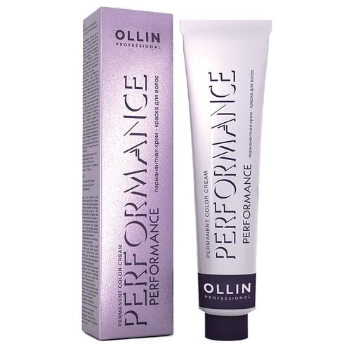 Фото - OLLIN Professional Performance перманентная крем-краска для волос, 1/0 иссиня-черный, 60 мл ollin professional крем краска для бровей и ресниц набор vision set черный