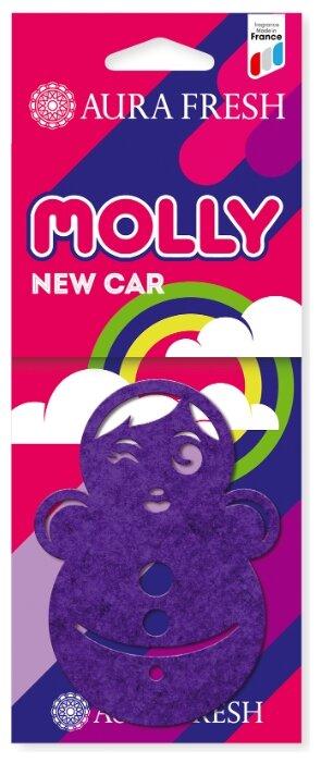 AURA FRESH Ароматизатор для автомобиля Molly New Car
