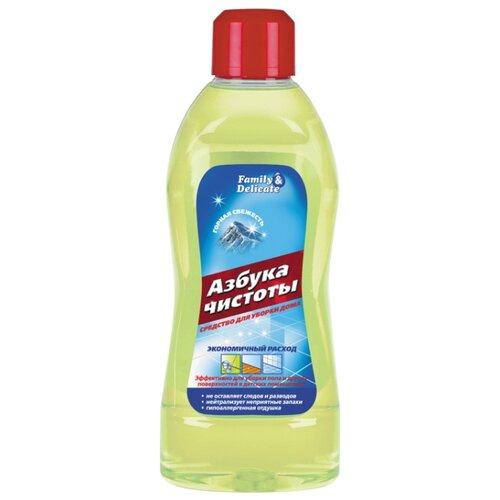 Азбука чистоты Средство для уборки дома Горная свежесть 1 л кондиционер для белья горная свежесть азбука чистоты 1 л флакон