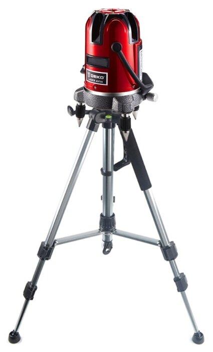 Лазерный уровень DEKO LL57 SET2 со штативом